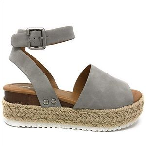 SODA open toe casual Sandal. No box.